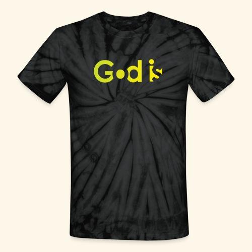 GOD IS #7 - Unisex Tie Dye T-Shirt