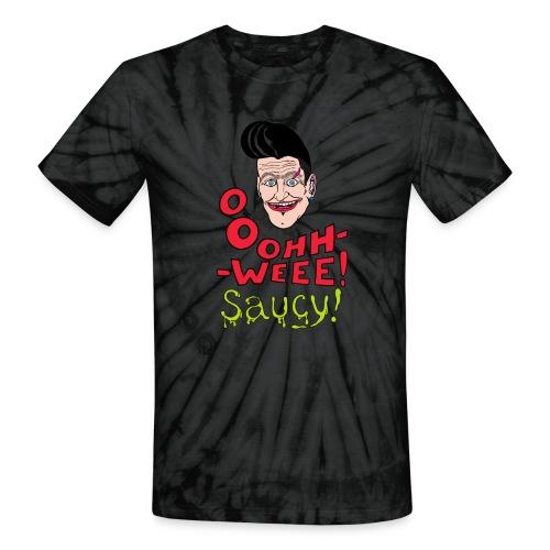 Jubilant classic hipster - Unisex Tie Dye T-Shirt