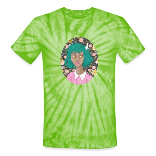 Fang - Unisex Tie Dye T-Shirt