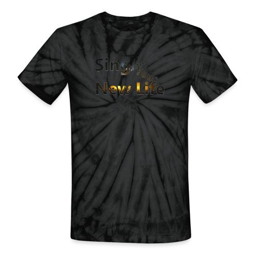 Sing in Brown - Unisex Tie Dye T-Shirt