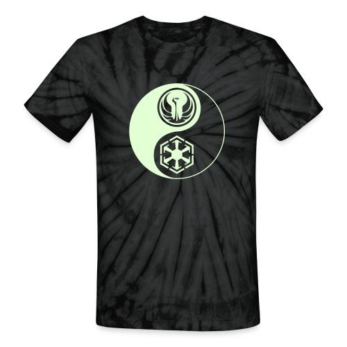 Star Wars SWTOR Yin Yang 1-Color Light - Unisex Tie Dye T-Shirt
