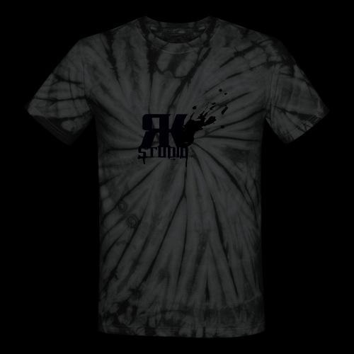RKStudio Black Version - Unisex Tie Dye T-Shirt