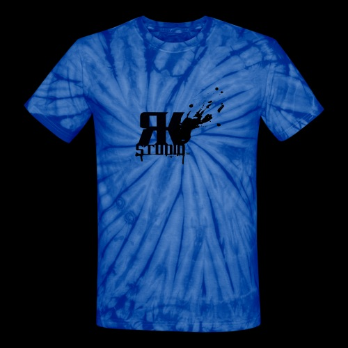 RKStudio Black Version - Unisex Tie Dye T-Shirt