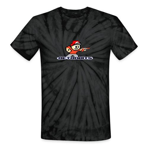 RetroBits Clothing - Unisex Tie Dye T-Shirt