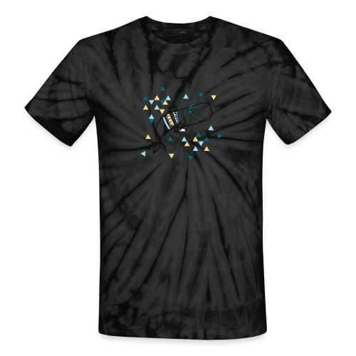 Music Whale - Unisex Tie Dye T-Shirt
