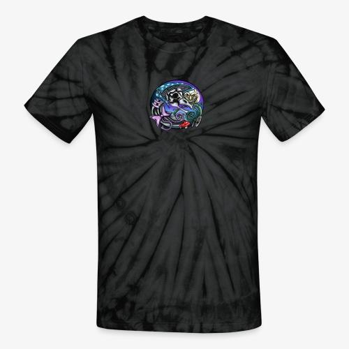 Mother CreepyPasta Nursery Rhyme Circle Design - Unisex Tie Dye T-Shirt