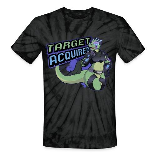 verge t shirt design small 2 png - Unisex Tie Dye T-Shirt