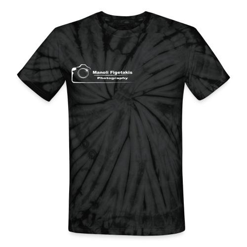Manoli Figetakis Photography Logo - Unisex Tie Dye T-Shirt
