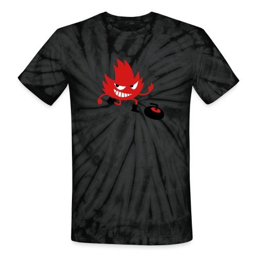 Leif Curling - Unisex Tie Dye T-Shirt