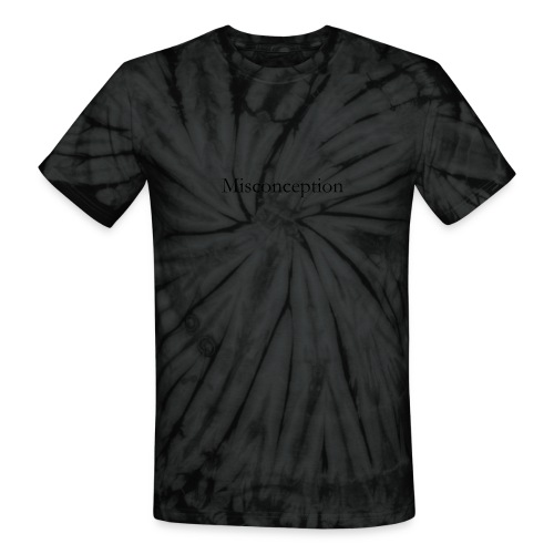 Misconception SS18 - Unisex Tie Dye T-Shirt