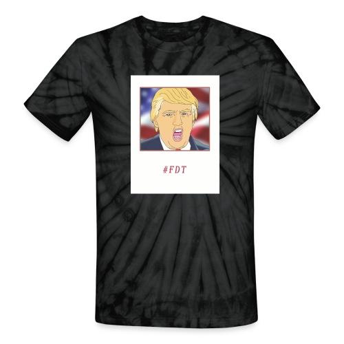 Fuck Donald Trump! - Unisex Tie Dye T-Shirt