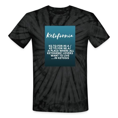 Ketofornia - Unisex Tie Dye T-Shirt