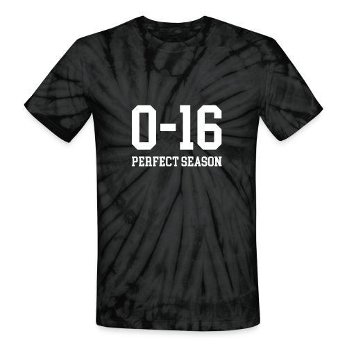 Detroit Lions 0 16 Perfect Season - Unisex Tie Dye T-Shirt