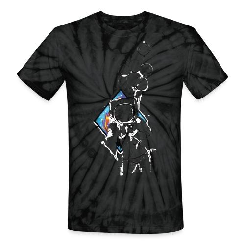 Astronaute - Art'Norme - Unisex Tie Dye T-Shirt