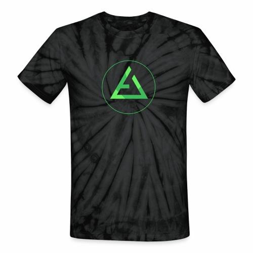 crypto logo branding - Unisex Tie Dye T-Shirt