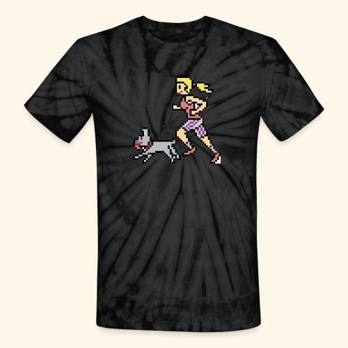 RunWithPixel - Unisex Tie Dye T-Shirt