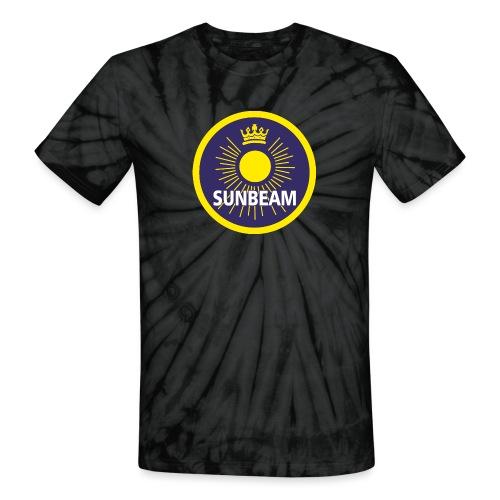 Sunbeam emblem - AUTONAUT.com - Unisex Tie Dye T-Shirt