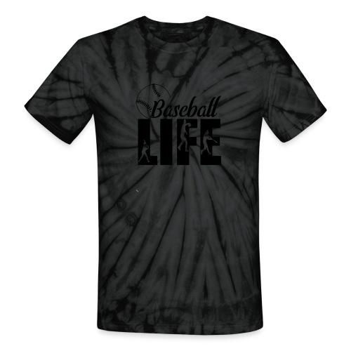 Baseball life - Unisex Tie Dye T-Shirt