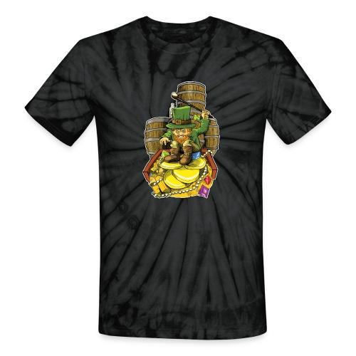 Angry Irish Leprechaun - Unisex Tie Dye T-Shirt