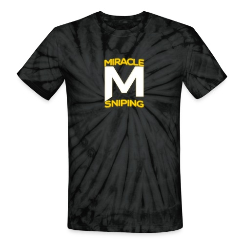 Miracle Sniping - Unisex Tie Dye T-Shirt
