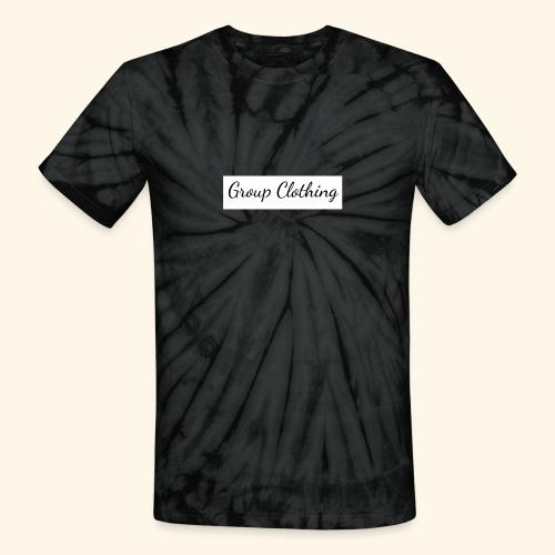 Cursive Black and White Hoodie - Unisex Tie Dye T-Shirt