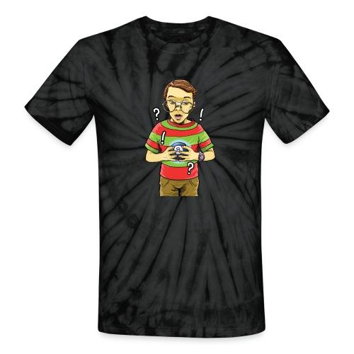 Waldo - Unisex Tie Dye T-Shirt
