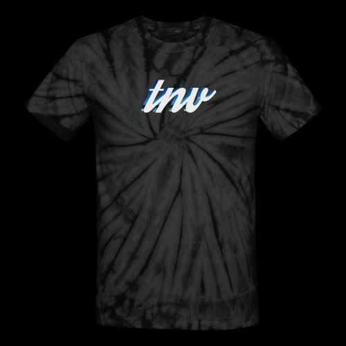 TNV WHITE DESIGN CLSSC png - Unisex Tie Dye T-Shirt