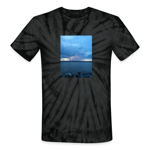 Storm Fall - Unisex Tie Dye T-Shirt