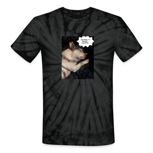Dreaming of squirrel - Unisex Tie Dye T-Shirt