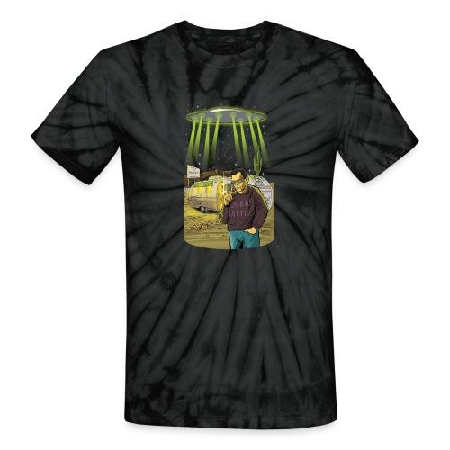 Art Bell Coast to Coast UFO Sighting - Unisex Tie Dye T-Shirt