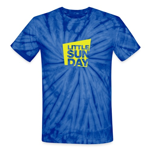littleSUNDAY Official Logo - Unisex Tie Dye T-Shirt