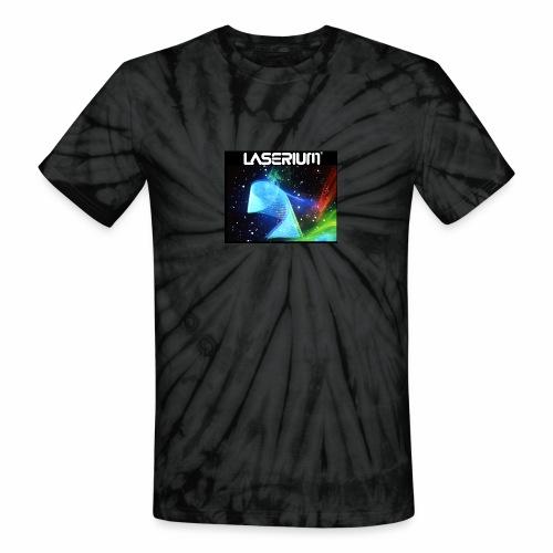 LASERIUM Laser spiral - Unisex Tie Dye T-Shirt