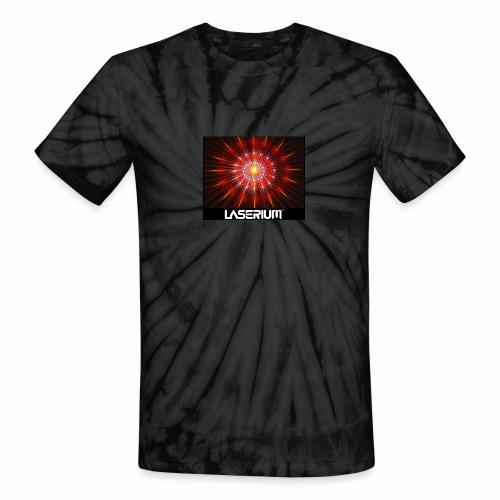 LASERIUM Laser starburst - Unisex Tie Dye T-Shirt