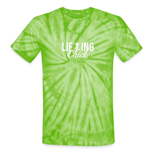 Lifting Fitness Chick - Unisex Tie Dye T-Shirt