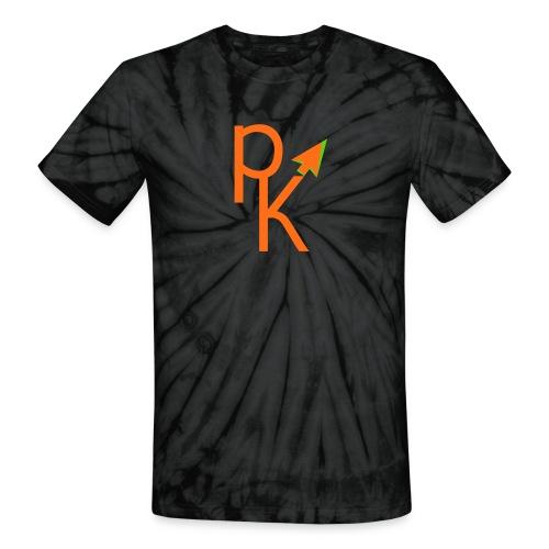 Plusklix Logo - Unisex Tie Dye T-Shirt