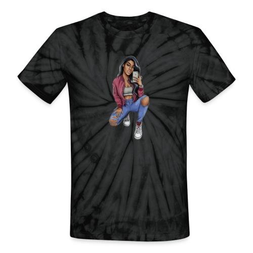 #Silhouette - Unisex Tie Dye T-Shirt