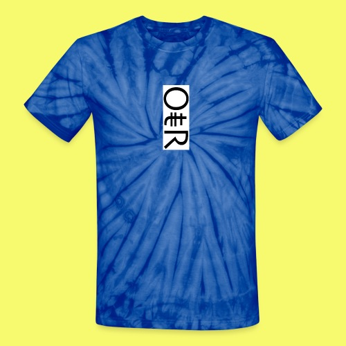 OntheReal ice - Unisex Tie Dye T-Shirt