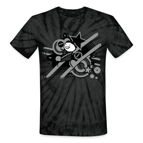 charles totesize - Unisex Tie Dye T-Shirt
