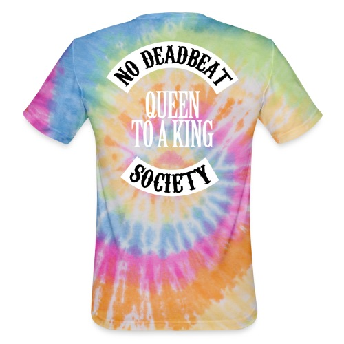 Queen To A King T-shirt - Unisex Tie Dye T-Shirt