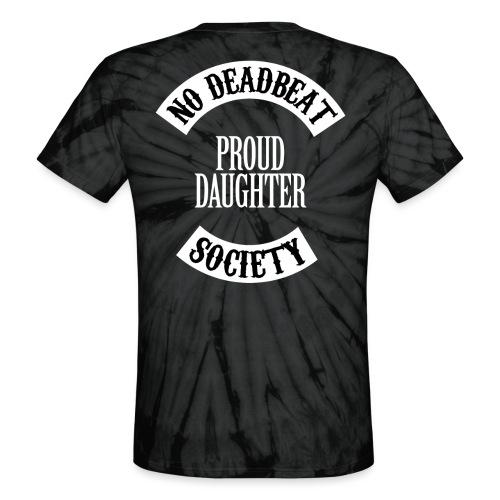 Proud Daughter T-shirt (Kids) - Unisex Tie Dye T-Shirt