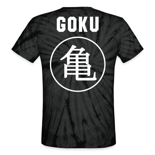 GOKU - TURTLE - Unisex Tie Dye T-Shirt