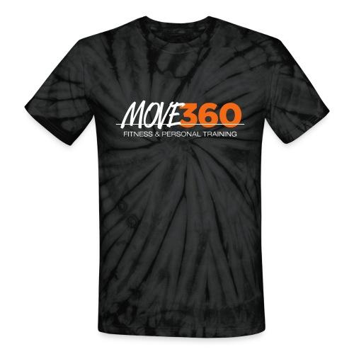 Move360 Logo LightGrey - Unisex Tie Dye T-Shirt