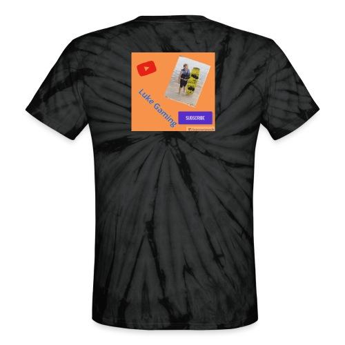 Luke Gaming T-Shirt - Unisex Tie Dye T-Shirt