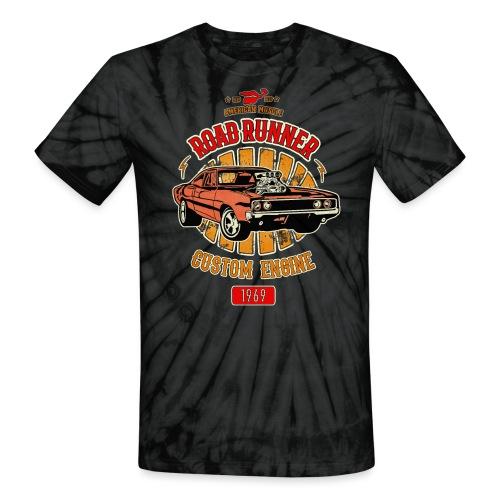 Plymouth Road Runner - American Muscle - Unisex Tie Dye T-Shirt