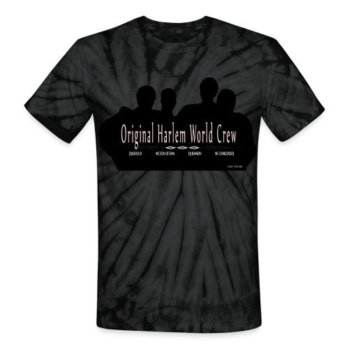 Harlem World Crew the4 - Unisex Tie Dye T-Shirt