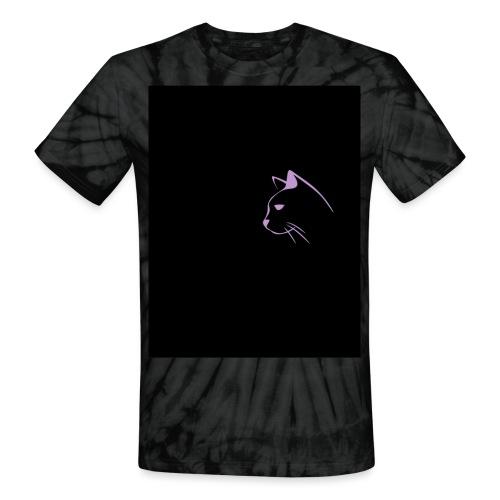 Cat - Unisex Tie Dye T-Shirt