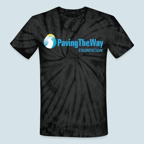 PTWF logo - Unisex Tie Dye T-Shirt