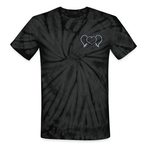 heart wings - Unisex Tie Dye T-Shirt