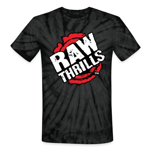 Raw Thrills - Unisex Tie Dye T-Shirt