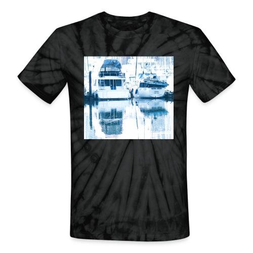 December boats - Unisex Tie Dye T-Shirt